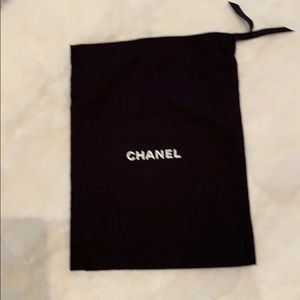 Chanel purse dust bag.